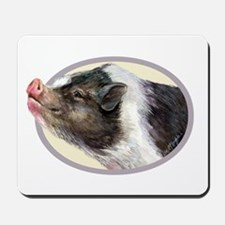 Potbellied Pigs Mousepad