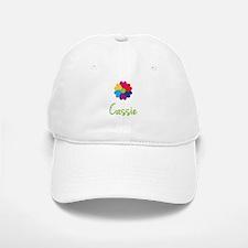 Cassie Valentine Flower Baseball Baseball Cap