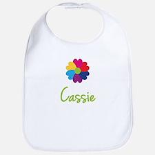 Cassie Valentine Flower Bib