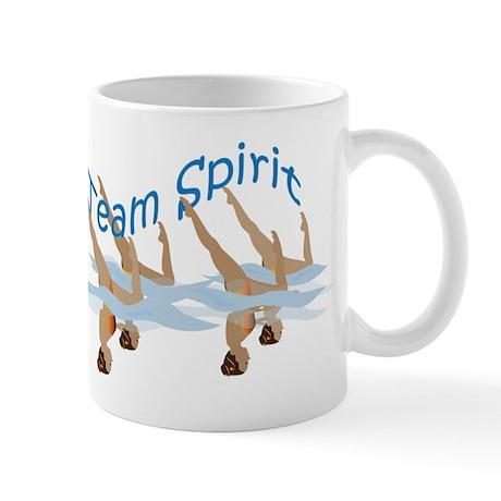 Synchronized swimming Mug