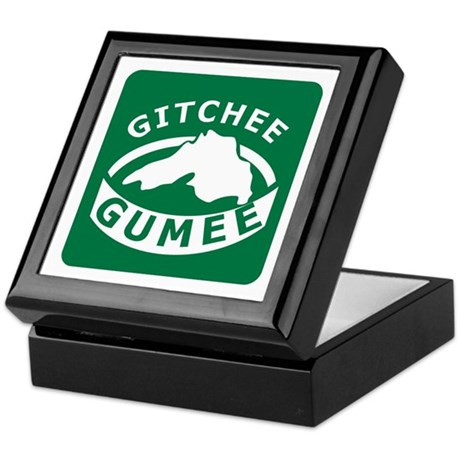Gitchee Gumee - Lake Superior Keepsake Box