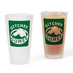 Gitchee Gumee - Lake Superior Drinking Glass