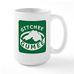 Gitchee Gumee - Lake Superior Large Mug