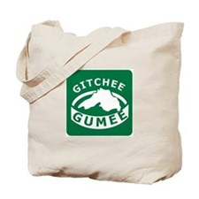 Gitchee Gumee - Lake Superior Tote Bag