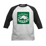 Gitchee Gumee - Lake Superior Kids Baseball Jersey