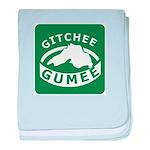 Gitchee Gumee - Lake Superior baby blanket