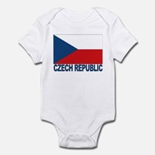 Czech Republic Flag Infant Creeper