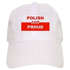 Polish And Proud Baseball Cap