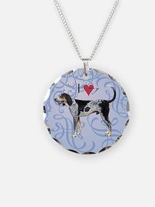 Bluetick Coonhound Necklace