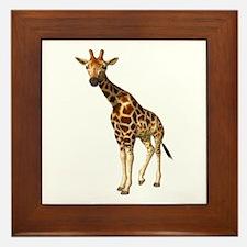The Giraffe Framed Tile