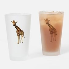 The Giraffe Drinking Glass