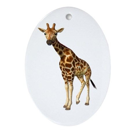 The Giraffe Ornament (Oval)