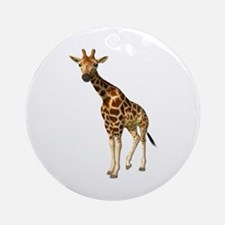 The Giraffe Ornament (Round)