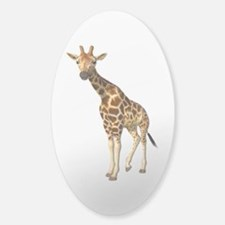 The Giraffe Sticker (Oval)