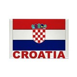Flag croatia Magnets
