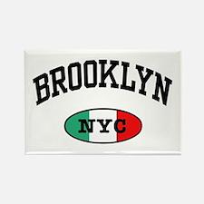 Italian Brooklyn NYC Rectangle Magnet