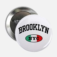 Italian Brooklyn NYC Button