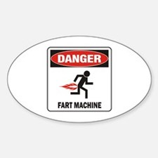 Fart Sticker (Oval)