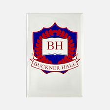 Buckner Hall Red Rectangle Magnet