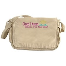 Carlton School for the Deaf Messenger Bag