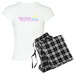 Carlton School for the Deaf Women's Light Pajamas
