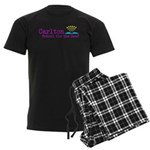 Carlton School for the Deaf Men's Dark Pajamas