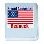 Proud American Redneck baby blanket