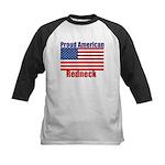 Proud American Redneck Kids Baseball Jersey
