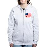 Proud American Redneck Women's Zip Hoodie