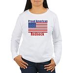 Proud American Redneck Women's Long Sleeve T-Shirt
