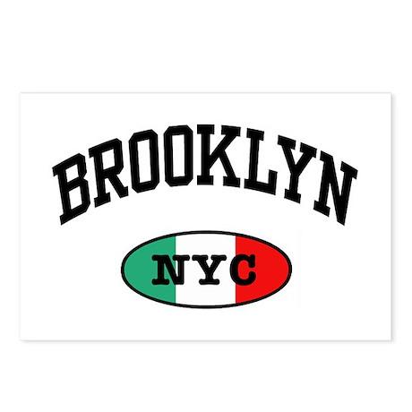 Italian Brooklyn NYC Postcards (Package of 8)