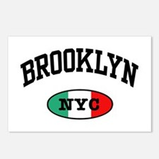 Italian Brooklyn NYC  Postcards (Package of 8)