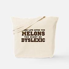 When Life Gives You Melons Yo Tote Bag