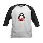 Swim Trunk Penguin Kids Baseball Jersey