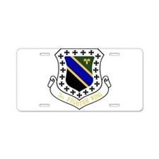 3rd Fighter Wing Aluminum License Plate