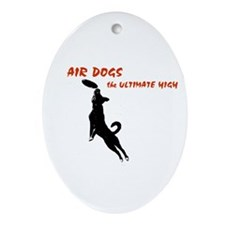 air dogs 1 Ornament (Oval)