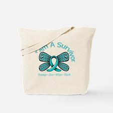 PCOS I'm A Survivor Tote Bag