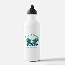PCOS I'm A Survivor Water Bottle