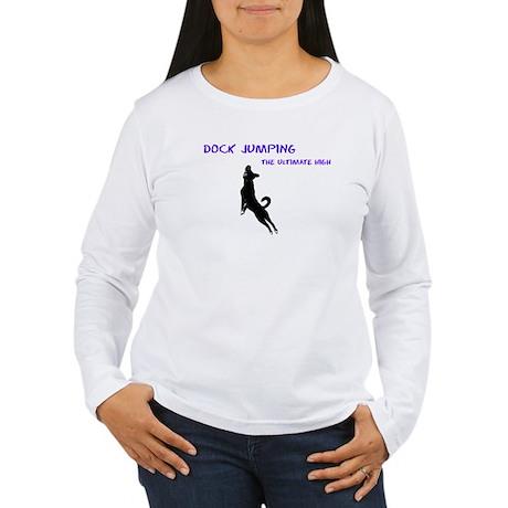 dock jumping 2 Women's Long Sleeve T-Shirt
