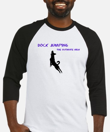 dock jumping 2 Baseball Jersey