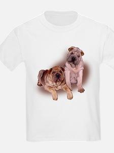 two chinese sharpei T-Shirt