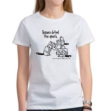 Daily Beaver - Free Speech Tee