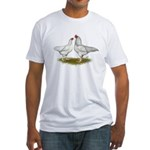 Ixworth Chickens Fitted T-Shirt