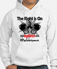 Fight is On Melanoma Hoodie