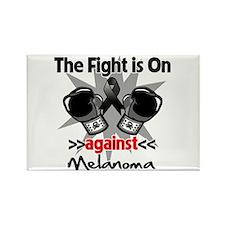 Fight is On Melanoma Rectangle Magnet