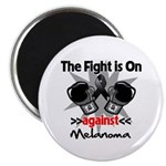Fight is On Melanoma Magnet