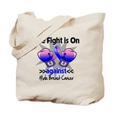 Fight Male Breast Cancer Tote Bag