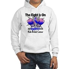 Fight Male Breast Cancer Hoodie