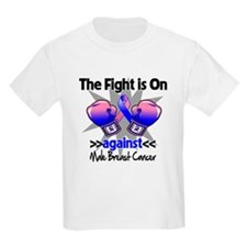 Fight Male Breast Cancer T-Shirt