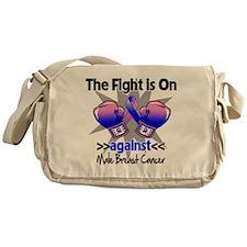 Fight Male Breast Cancer Messenger Bag